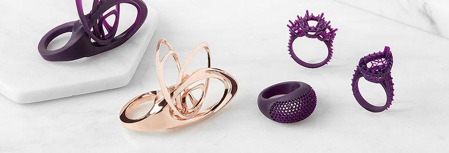 imprimante 3D bijoux