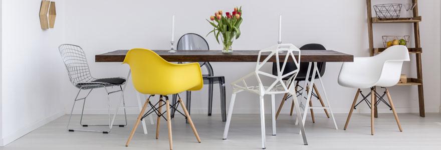 Tables et chaises de cuisine et de salle à manger